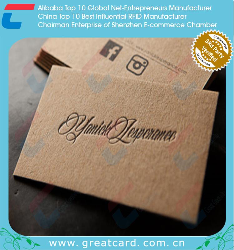 Matt Paper Business Card Printing / Paper Id Card Printing - Buy ...