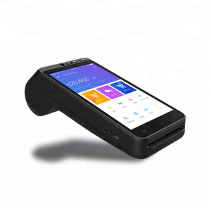 Smart mobile bus ticket 4g Android nfc handheld pos terminal system