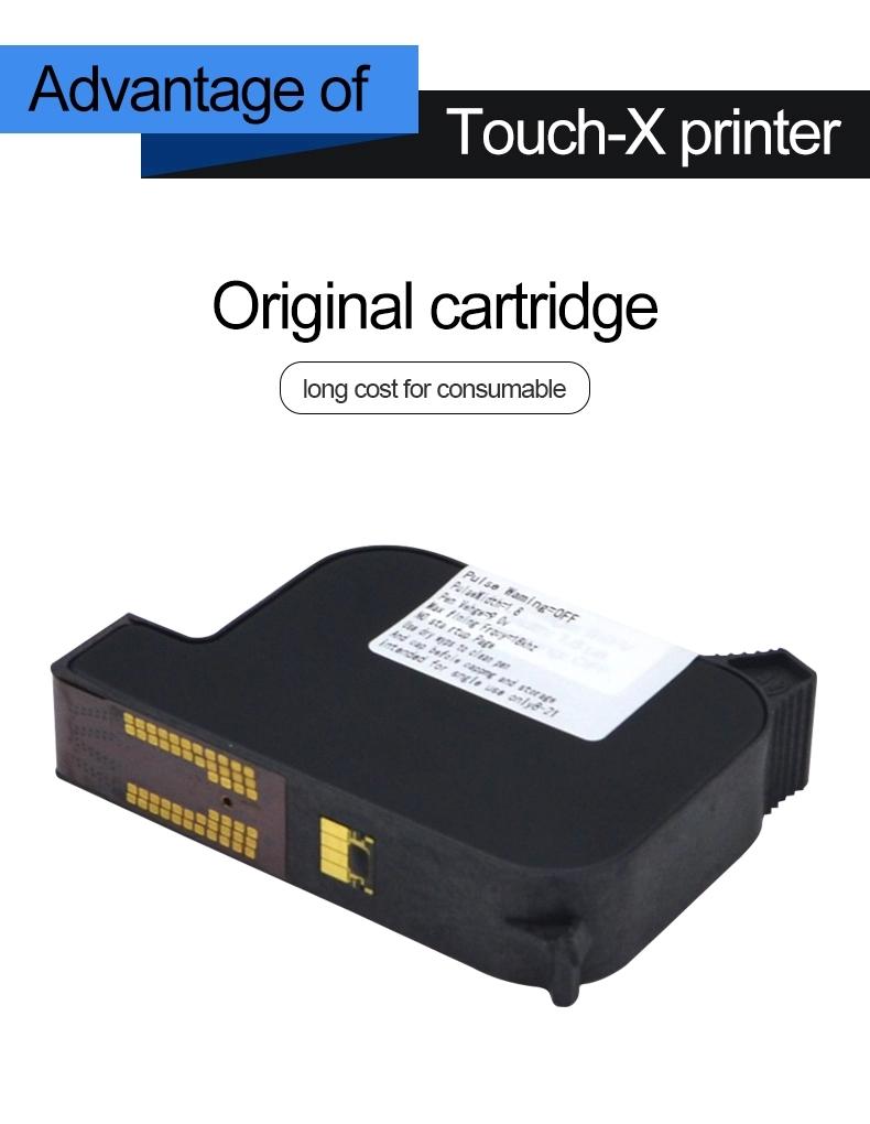 bar code QR code inkjet printer small bottle cap expiry date printer