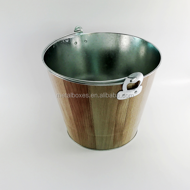 Wholesale Metal Round Ice Bucket From China Suppliers