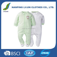 Infant & Toddlers Clothing Cotton Baby 2 Pack Zip Front Sleep Play