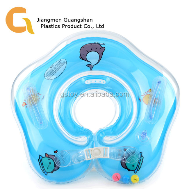 Dependable Safety Baby Neck Float Swimming Newborn Baby Swimming Neck Ring With Pump Gift Mattress Cartoon Pool Swim Ring For 0-24 Months Quality And Quantity Assured Mother & Kids
