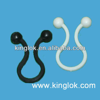 Purse Lock Wire Ties Twist Lock Plastic Cable Clamps Nylon Wire Lock ...