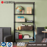 Light Duty 5 tier shelf home storage shelving from rack suppliers