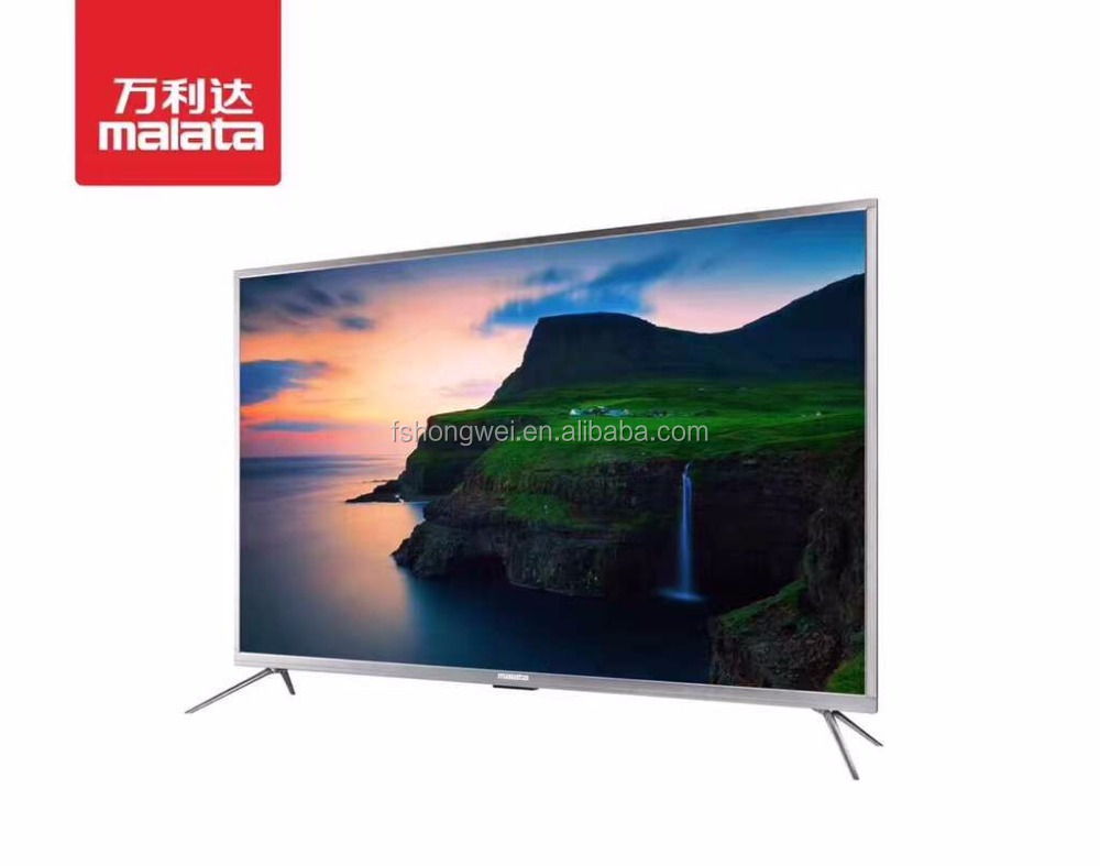 2017 Best Selling Television 40 42 43 50 55 60 inch Flat Screen 4K TV, China High Quality Cheap Ultra HD LED TV