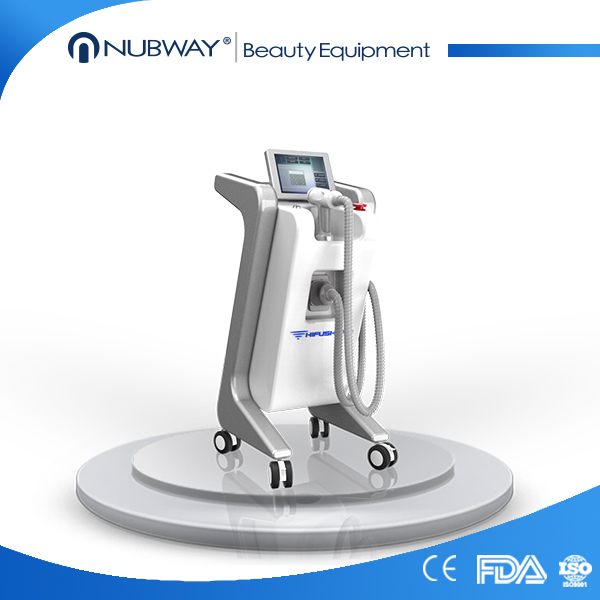 First Chinese manufacturer Wind+Water cooling system hifu high intensity focused ultrasound hifu body slimming