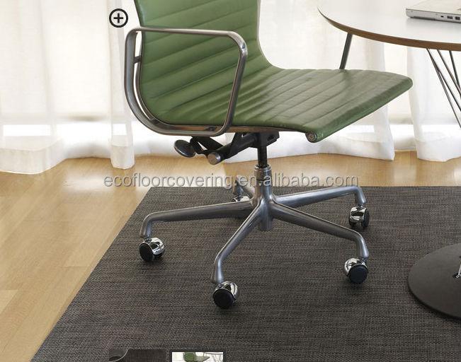 Office chair mat for carpet - Protetor De Tapete De Pl 225 Stico Para Cadeira Anti Scratch