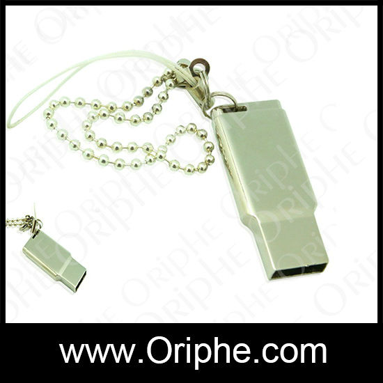 2014 Metal, cylindrical, whistle,metal gift whistle metal gift usb flas drive from Oriphe