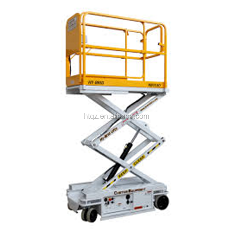 Factory price small platform scissor lift, stationary scissor lift platform