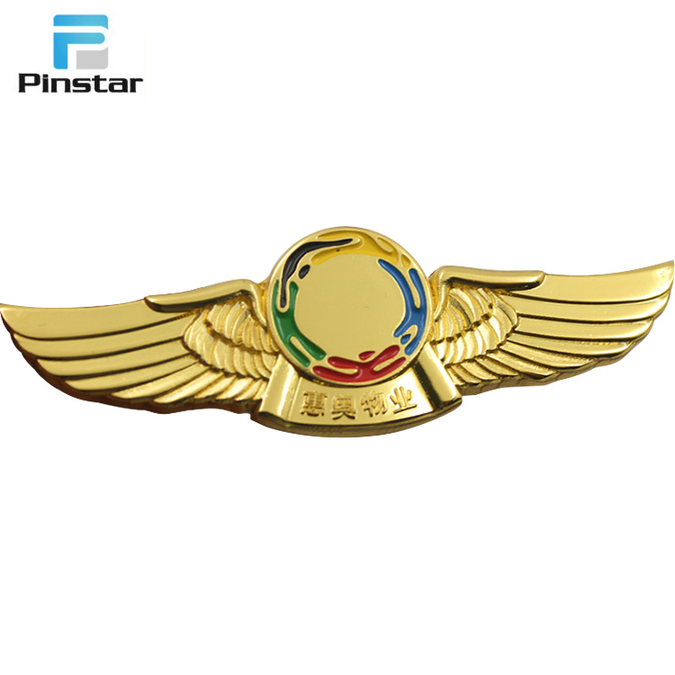 Create your own good quality eagle shaped suit jacket lapel pins