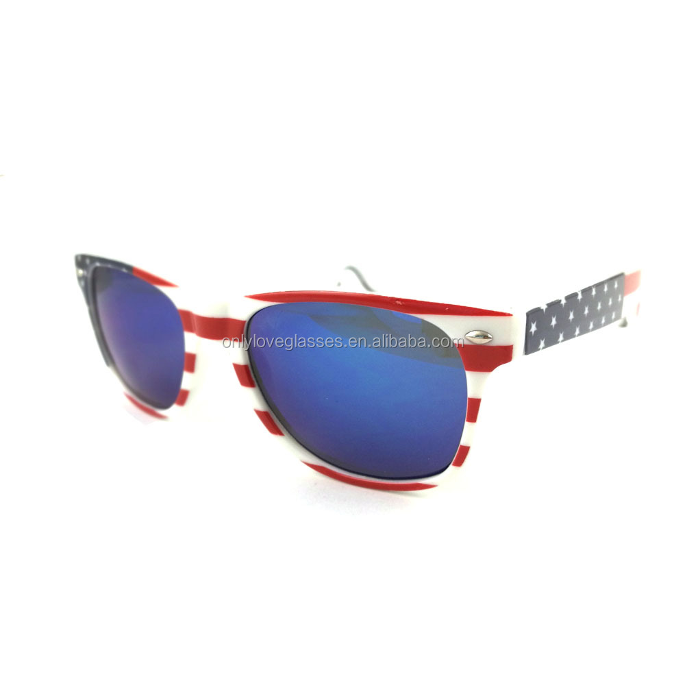 American  flag bottle opener sunglasses,flag sunglasses,botter opener sunglasses