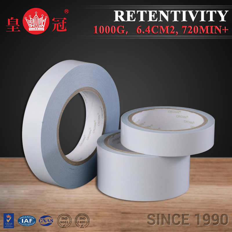 Practical Double Sided Tissue Solvent based sand blasting tape