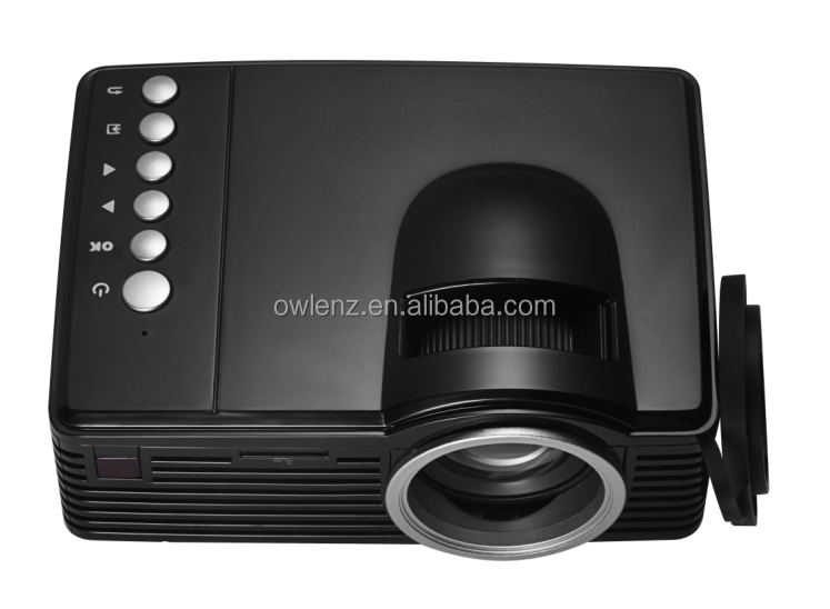 2017 latest projector mobile phone SD20 mini led projector