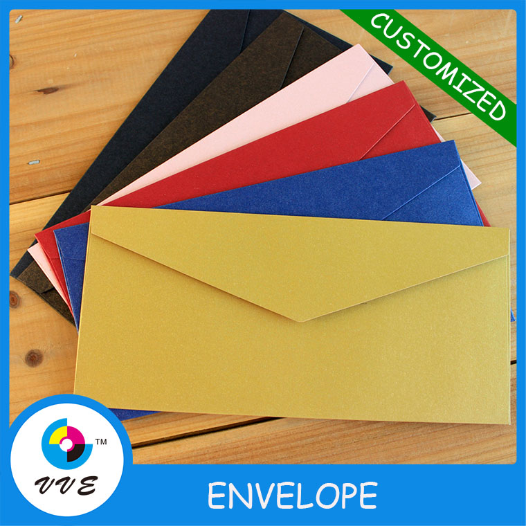 Custom DL paper envelope,kraft paper envelope