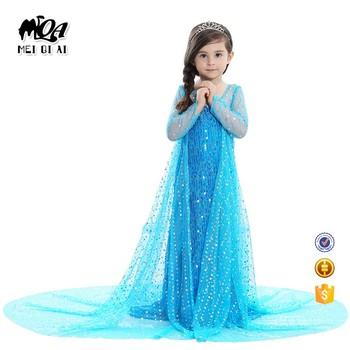 df1924b7f890d Christmas Festival Halloween Cosplay Frozen Girl Children Dress Garment  Special Occasion Wear BXLP001