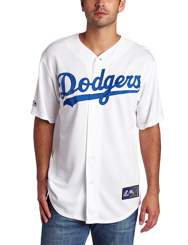Get Quotations · Matt Kemp Los Angeles Dodgers Home MLB Replica Jersey 392f99dae33