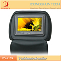"cheap 7""Universal headrest TFT LCD monitor resolution 480*234"
