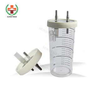 SY-I086 Wall mounted medical suction jar Suction Regulator disposable suction bottle