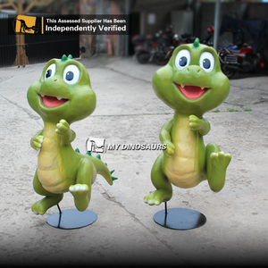 MY DINO P031 Handmade Cartoon Dragon Toys Hand Puppet for Kids Gift