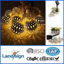 Promotional gift items garden light string XLTD-116 holiday lighting series solar Christmas lights