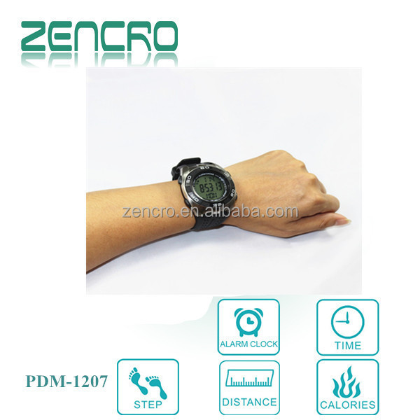 2016 new product fitness equipment smart watch with calories and heart rate