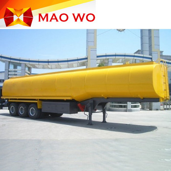 2017 hot sale fuel tank trailer oil trailer with oil flow meter and pump