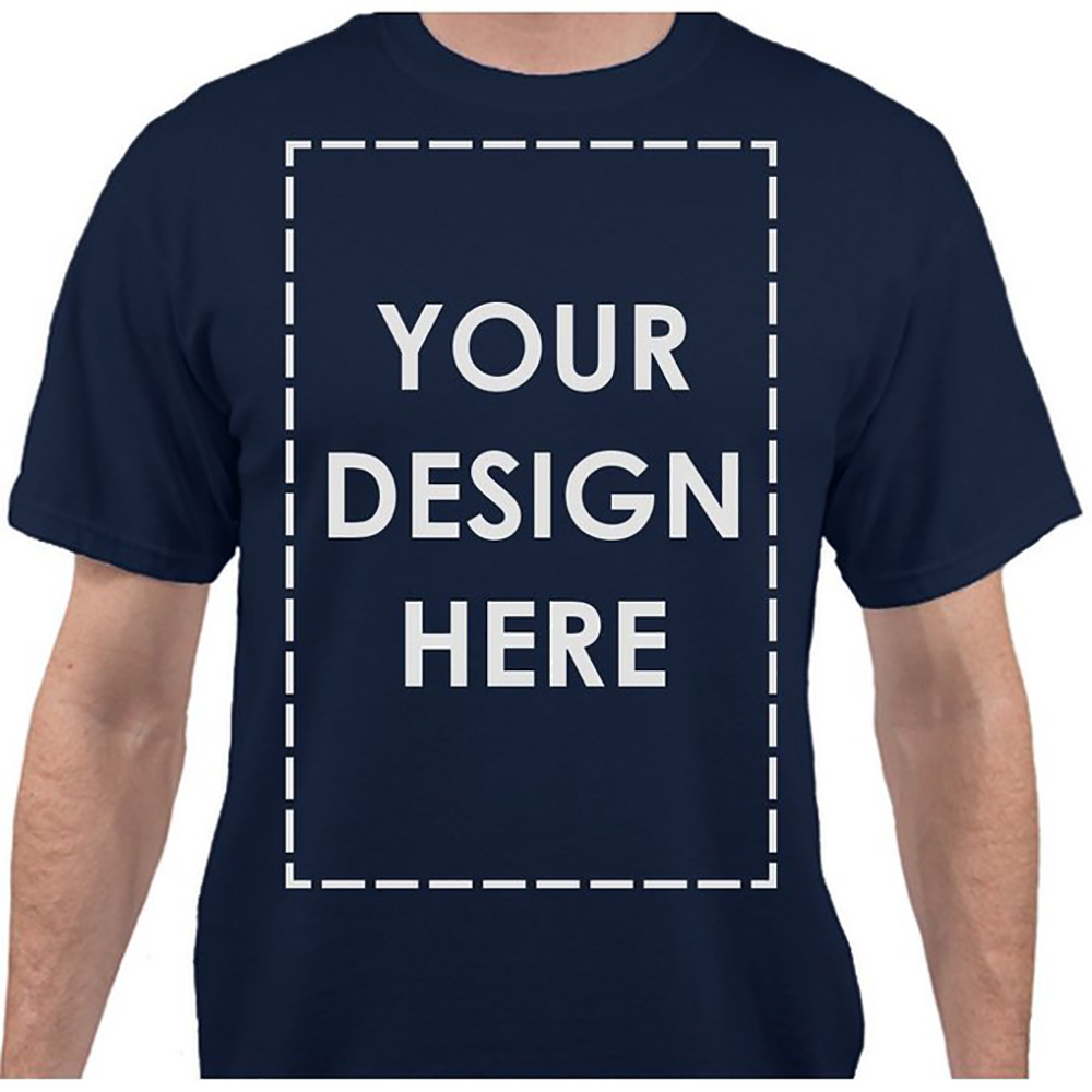 Customized promotional printed Tshirt Brand Logo cheap t shirt for men
