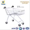 EU100C High Quality Europe Style Vegetable shopping Trolley Cart Bag 4 Casters