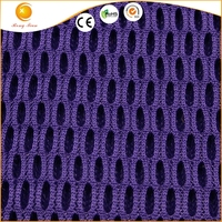purple polyester 3d air mesh fabric for car seat covers