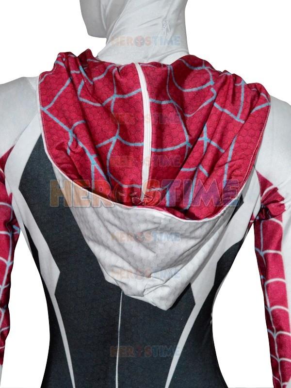 Spider Gwen Stacy Costume Spandex Female Spiderman Costume