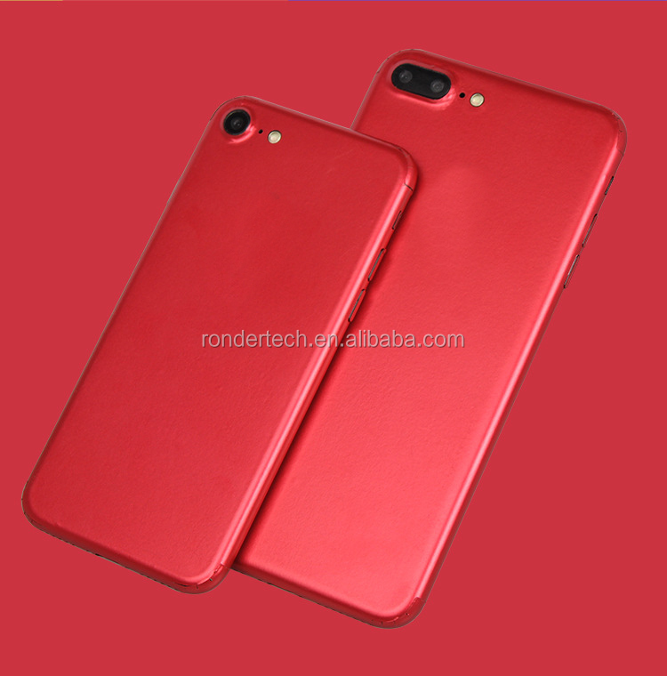 2017 hot magic edges shield red decal sticker for iphone 7 full body pet wrap skin