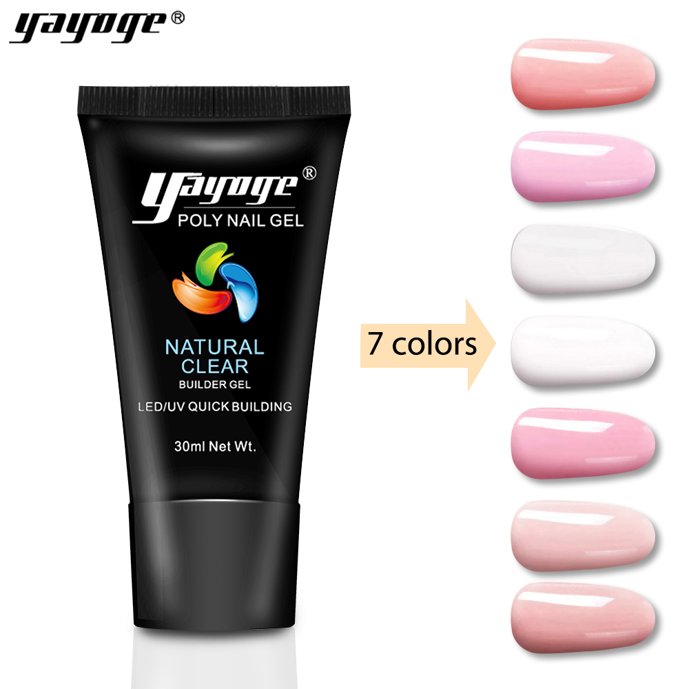 Private label High quality PolyGel Acrylic Nails Poly <strong>Gel</strong> from Yayoge for nail salon factory price