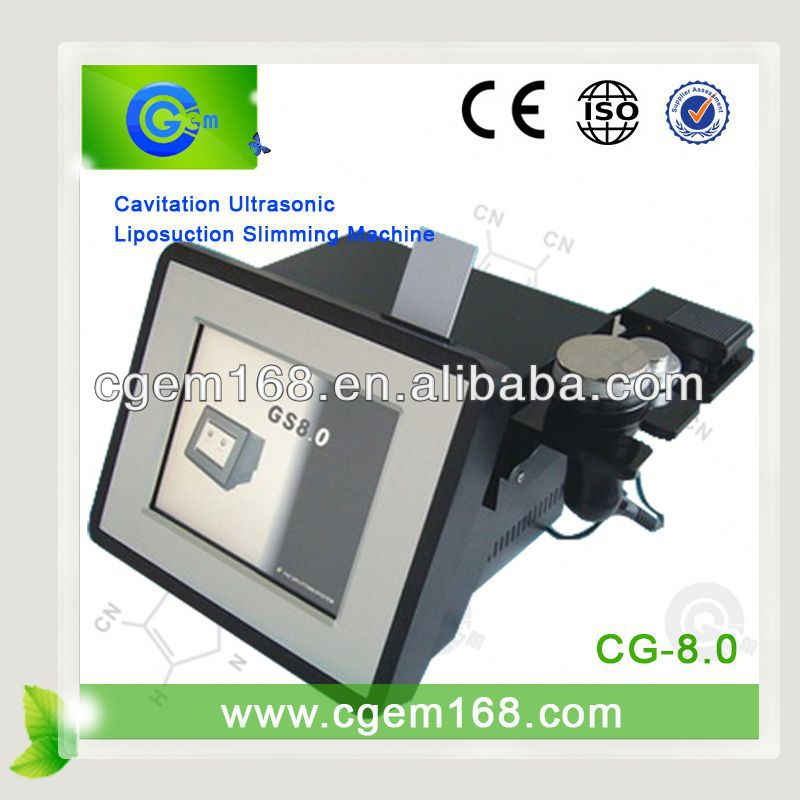 CG-8.0 Cavitation machine for weight loss and body slimming