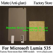 Matte Anti-glare Screen Protector Guard Cover protective Film For Microsoft Lumia 535 N535