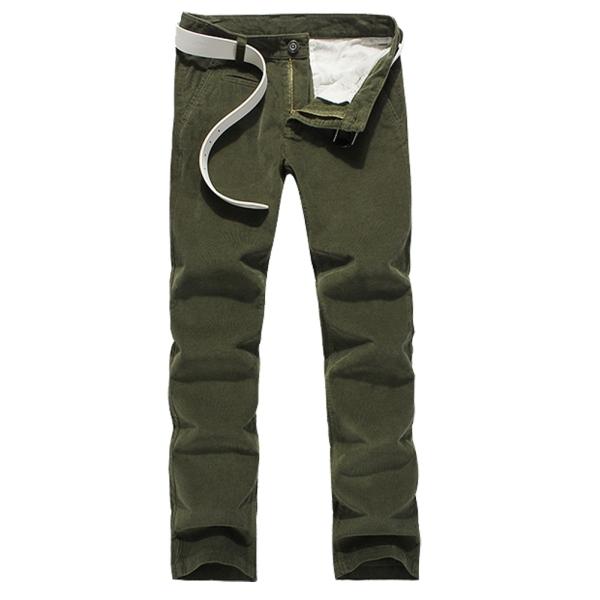 Самая низкая цена! Вельвета мужчины свободного покроя брюки красивый человек осенью одежда размер 29 - 34 новое поступление деловых людей с брюки