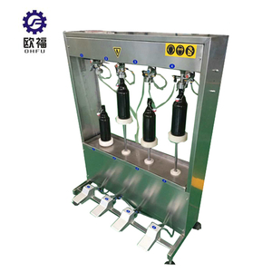 Small full automatic soda / beer bottle filling machine / line / equipment