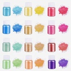 CNMI Mica Powder Pigment Epoxy Resin Dye Soap Dye Pearl Epoxy Resin Color Pigment Cosmetic Grade Mica Powder Set For Lip Gloss