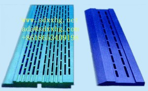 CNC UHMWPE Suction Box cover& Deflector blades