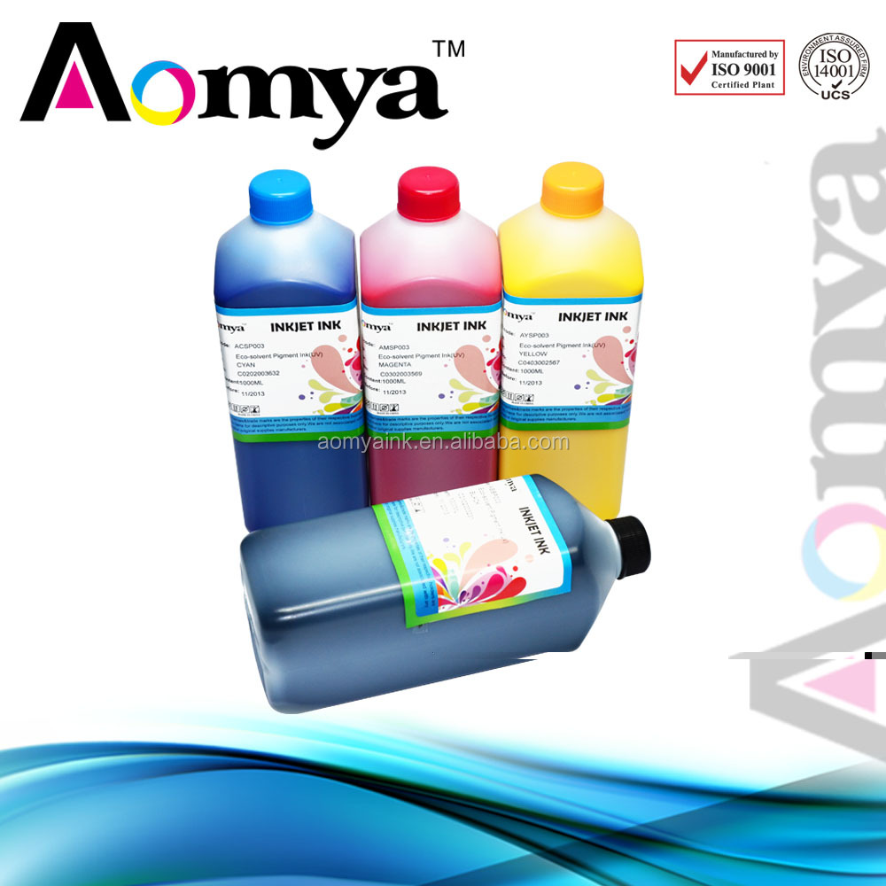 Eco Solvent Ink For Roland/For Mutoh/For Epson DX4 DX5 DX6 DX7 Print Head
