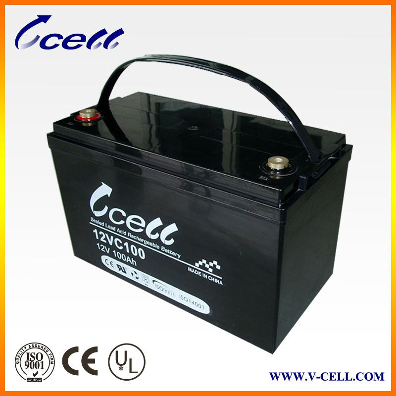 12V 100Ah Standard Maintenance Free ups battery