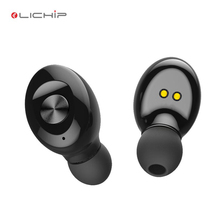 LICHIP metallic diamond classic earbuds for the deaf led glowing translator powerful voice changer mobile accessories earphone