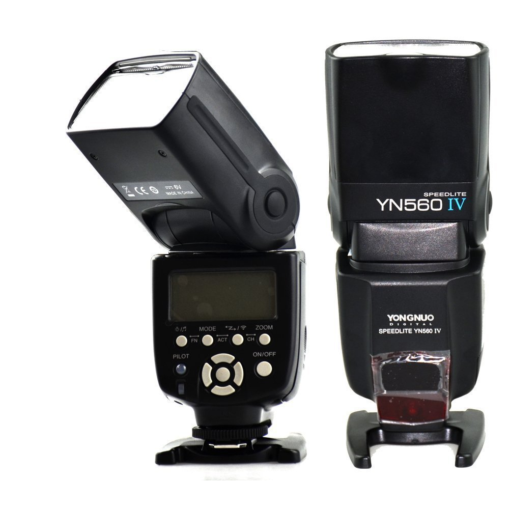 YONGNUO YN-560 IV Wireless Flash Speedlite Controller Built in Trigger Systerm Slave Flash for Canon Nikon Pentax Olympus Camera