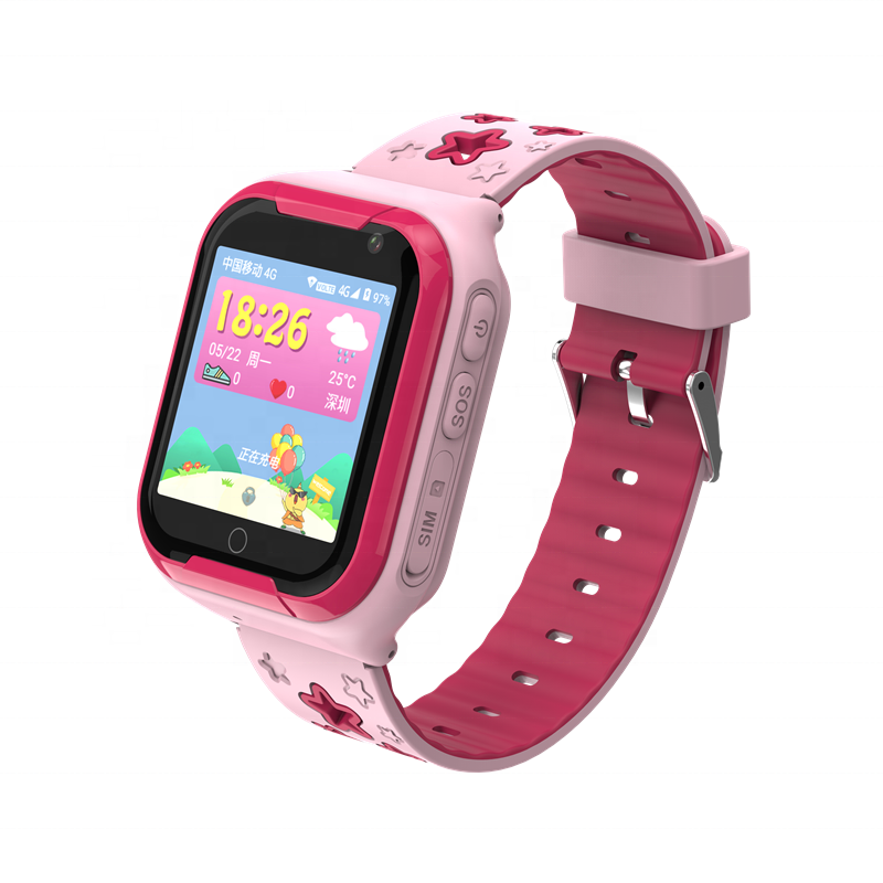 Alibaba.com / Motto 1.54 inch TFT display phone and video calling WIFI GPS navigation kids smart watch 4g
