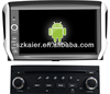 Android system car multimedia for Peugeot 208 with GPS/Bluetooth/TV/3G/WIFI