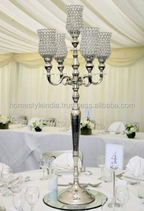Tall Wedding Candelabra Centerpiece Tall Wedding Candelabra – Chandelier Wedding Centerpieces