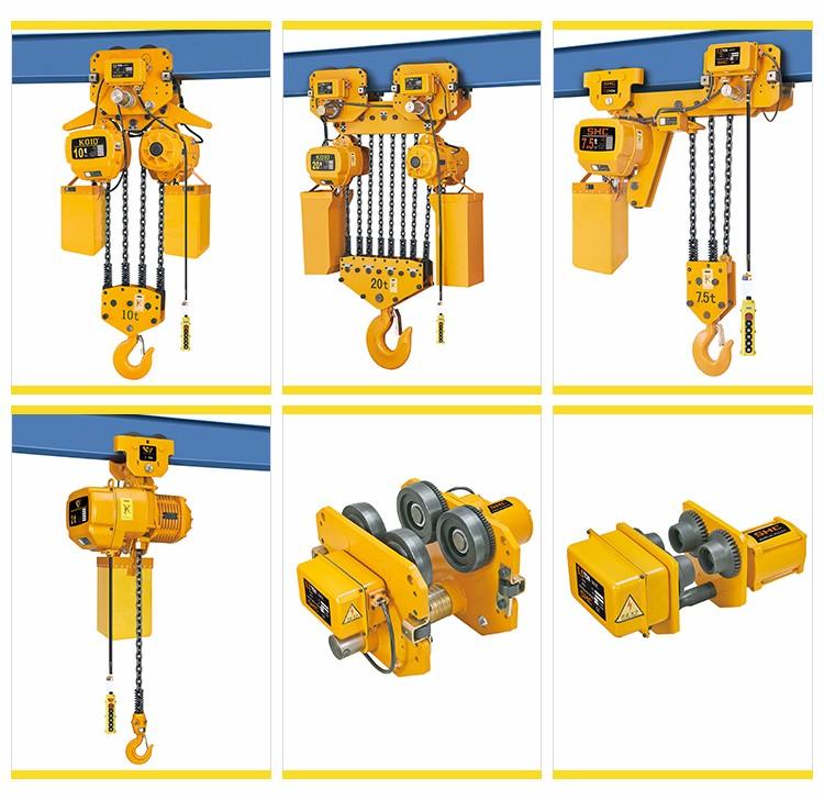 Dali China Suppliers Lift Hhbb Double Chain Hoist With Manual ...