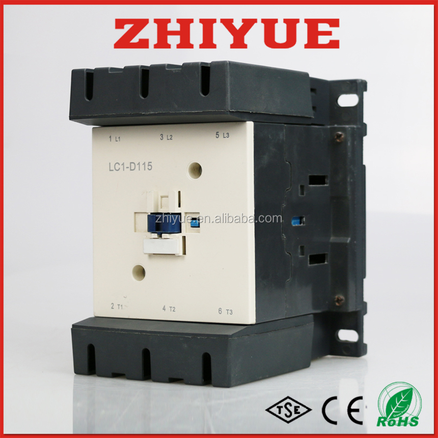 115a 380v three phase no lc1 d115 ac contactor