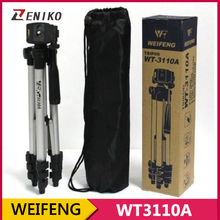 WEIFENG WT3110A, Mini Tripod With 3-Way HeadTripod for Nikon D7000 D80 D90 D3100 Camera for Sony NEX-5N for Canon 650D 60D 600D