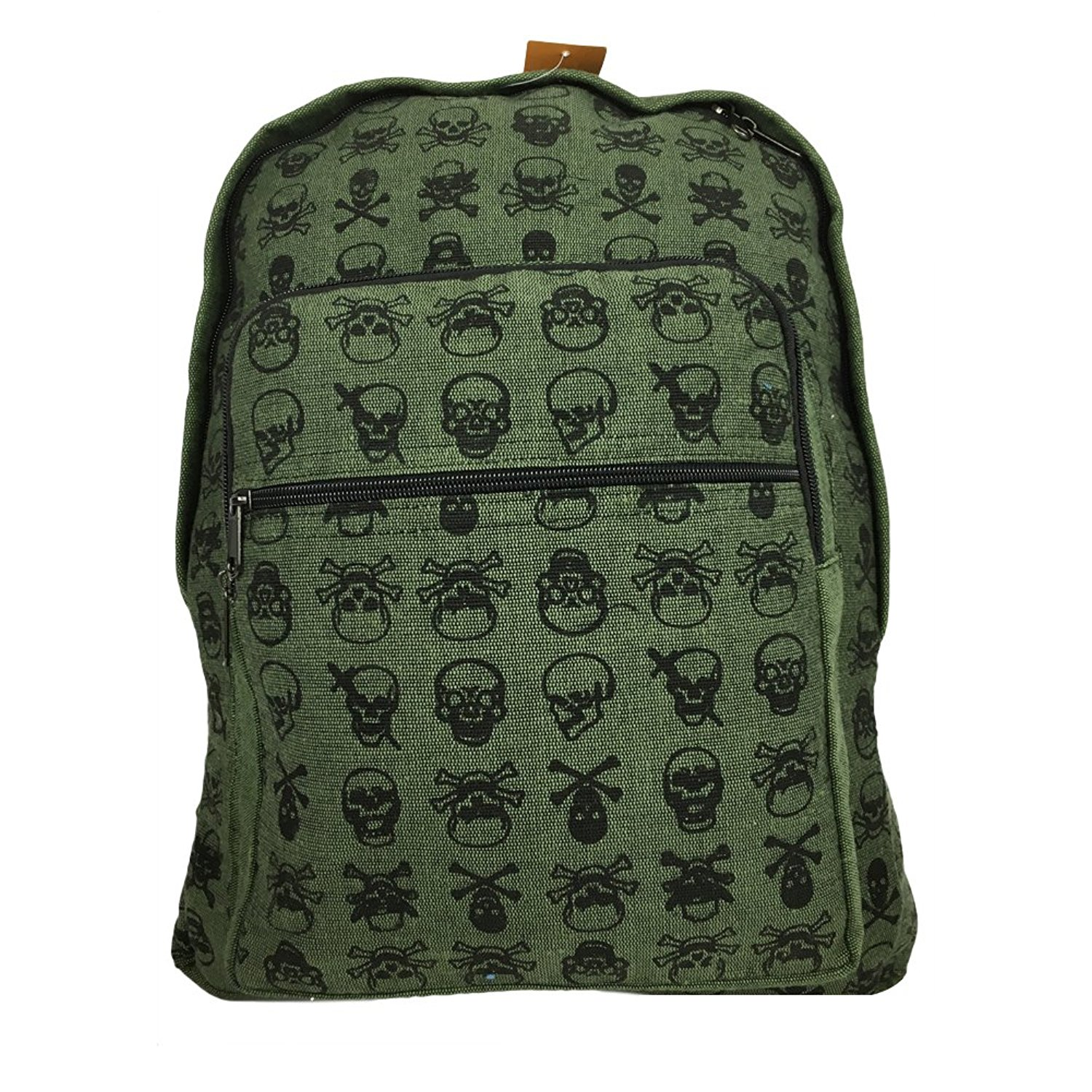 Fair Trade Skull Backpack, Handcrafted in the Himalayas