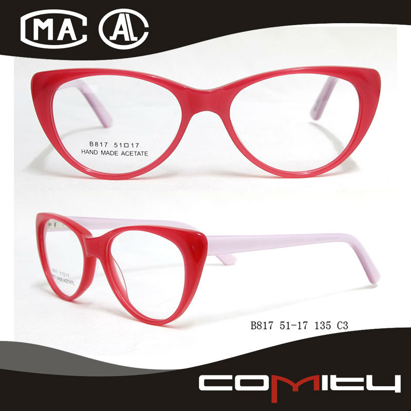 2014 Latest Original Branded Ladies Spectacles Frame White
